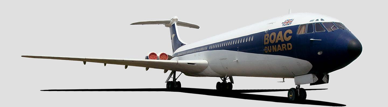 de Havilland Aircraft Company DH106 Comet in BOAC livery