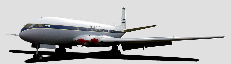 Aircraft in de Havilland Aircraft Company livery
