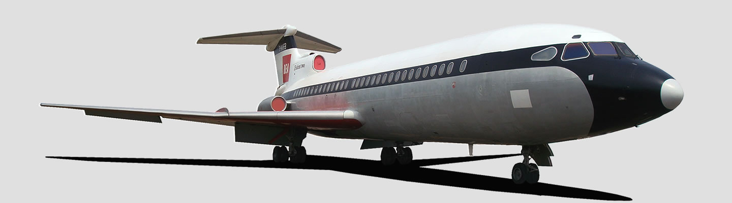 Hawker Siddeley 121 Trident 2 in British European Airways livery