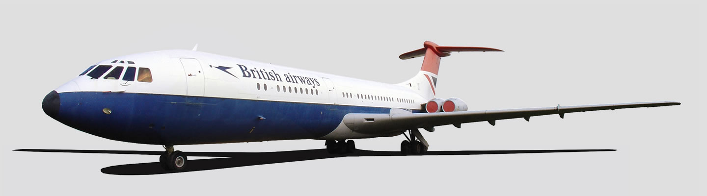 Vickers Standard VC10 Type 1101 in British Airways livery